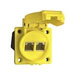 Datacontactdoos twisted pair industrie ABL Mcd RJ45 IP55