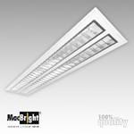Plafond-/wandarmatuur MacBright MAT-DP-2x28W HF GL 830 GST18/3