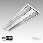 Plafond-/wandarmatuur MacBright MAT-DP-2x28W HF PF 830 GST18/3