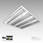 Plafond-/wandarmatuur MacBright MAT-DP-4x24W HF PF 830 GST18/3
