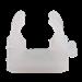 Kabelbuisklem  Mepac klembeugel 16/19mm transparant 411205