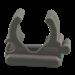 Kabelbuisklem  Mepac klembeugel 16/19mm grijs 411215