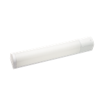 Plafond-/wandarmatuur SG Prelude glanzend wit 24W E/HF G5+st
