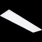 Plafond-/wandarmatuur SG Sense 300x1200 opaal diffusor 3/400