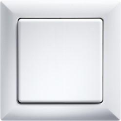 1-fach-Rahmen alu lackiert innen 55x55?mm