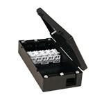 Elektrische toebehoren voor verlichtingsarmaturen Esylux JUNCTION BOX 5-POLE BK