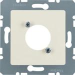 Onderdeel/centraalplaat communicatie-schakelmateriaal Hager 141202