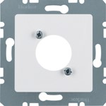 Onderdeel/centraalplaat communicatie-schakelmateriaal Hager 141209