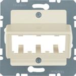 Onderdeel/centraalplaat communicatie-schakelmateriaal Hager 142702