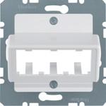 Onderdeel/centraalplaat communicatie-schakelmateriaal Hager 142709