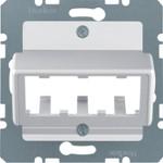 Onderdeel/centraalplaat communicatie-schakelmateriaal Hager Datacommunicatie
