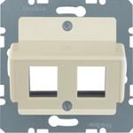 Onderdeel/centraalplaat communicatie-schakelmateriaal Hager 146402