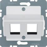 Onderdeel/centraalplaat communicatie-schakelmateriaal Hager 146409