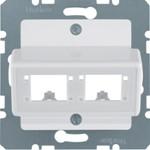 Onderdeel/centraalplaat communicatie-schakelmateriaal Hager 147209