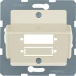 Onderdeel/centraalplaat communicatie-schakelmateriaal Hager 148002