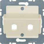 Onderdeel/centraalplaat communicatie-schakelmateriaal Hager 149202