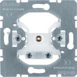 Onderdeel/centraalplaat communicatie-schakelmateriaal Hager Kabeluitgangen