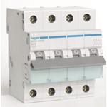 Installatieautomaat Hager 3-polig+Nul B-karakteristiek