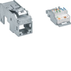 Data-aansluiting Keystone 1x RJ45 8/8 Cat.6a