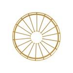 Mechanische toebehoren voor verlichtingsarmaturen LEDVANCE Vintage 1906 PenduLum Cage, gold
