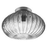 Plafond-/wandarmatuur LEDVANCE 1906 CARVED PUMPKIN Glass Smoke